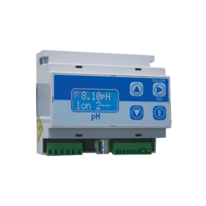 EMEC DIN Rail Mount pH or ORP Controller