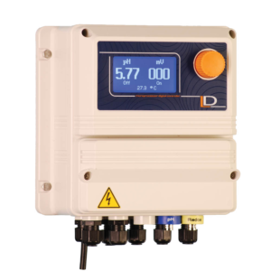 EMEC Model LDPHRH-MA Dual Channel ORP & PH Controller