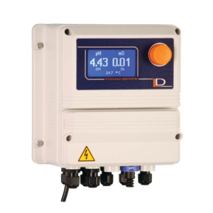 EMEC Model LDPHCD-MA Dual Channel pH & Conductivity Controller
