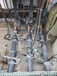 New pH Probe Install with In-line Cleaner