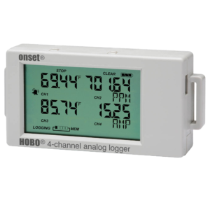 HOBO-UX120-006M Four Channel LCD Screen Data Logger