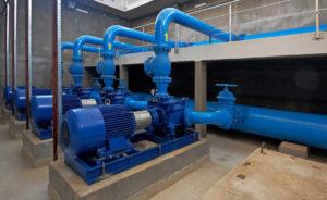 Underground Pump Station